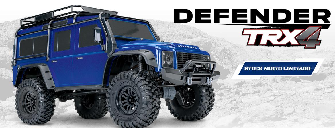 Traxxas TRX-4 Land Rover Defender Azul