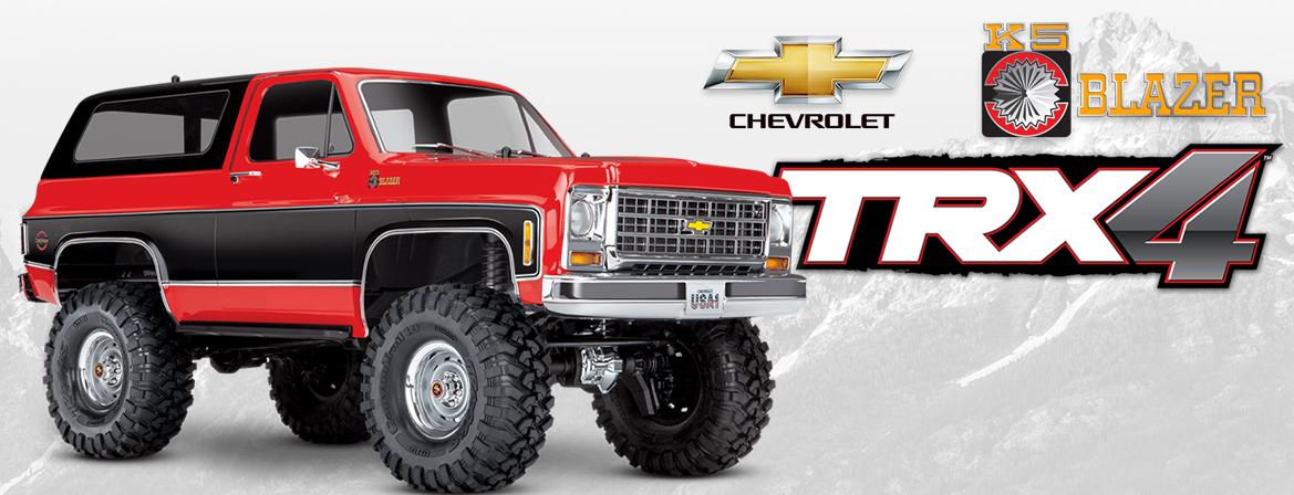Traxxas TRX-4 1/10 Chevrolet K5 Blazer 4WD