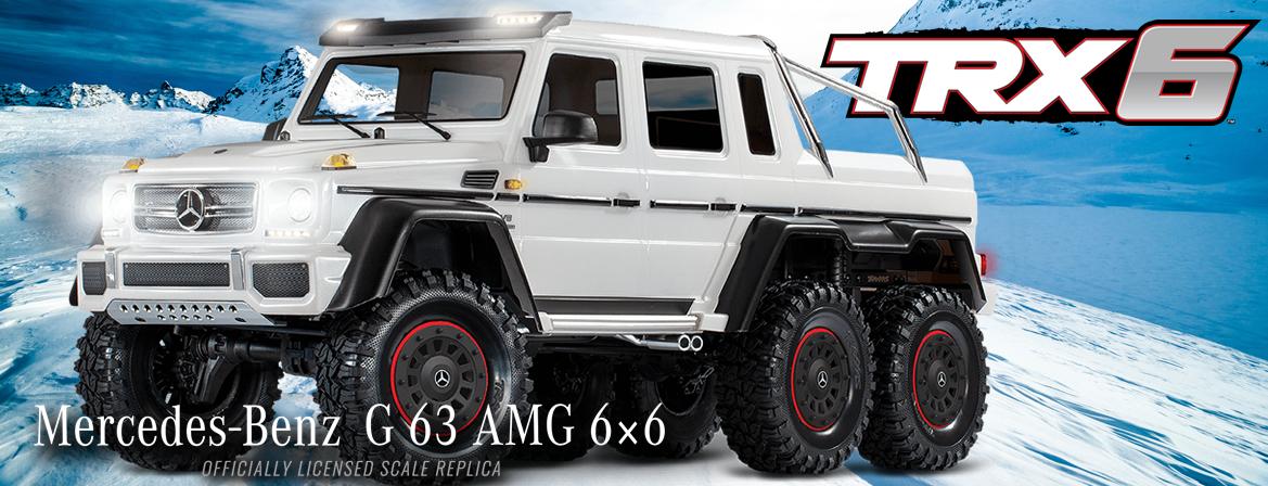 Traxxas TRX-6 Mercedes-Benz G 63 AMG 6x6 1/10 RTR