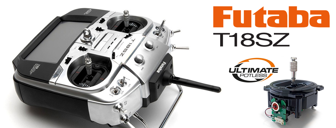 Futaba T18SZ Potless V2.0 with R7014SB