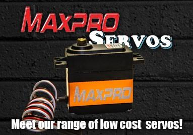 MAXPRO Servos